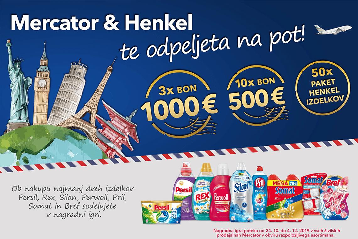Mercator in Henkel te odpeljeta na pot